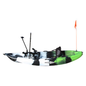 Flag on a 2in1 Kayak